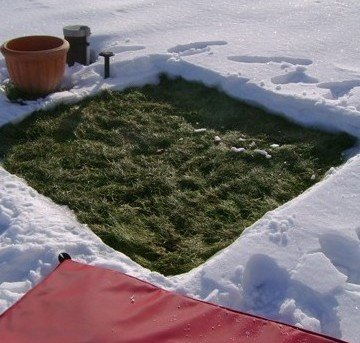 Ground Heater: Thaw