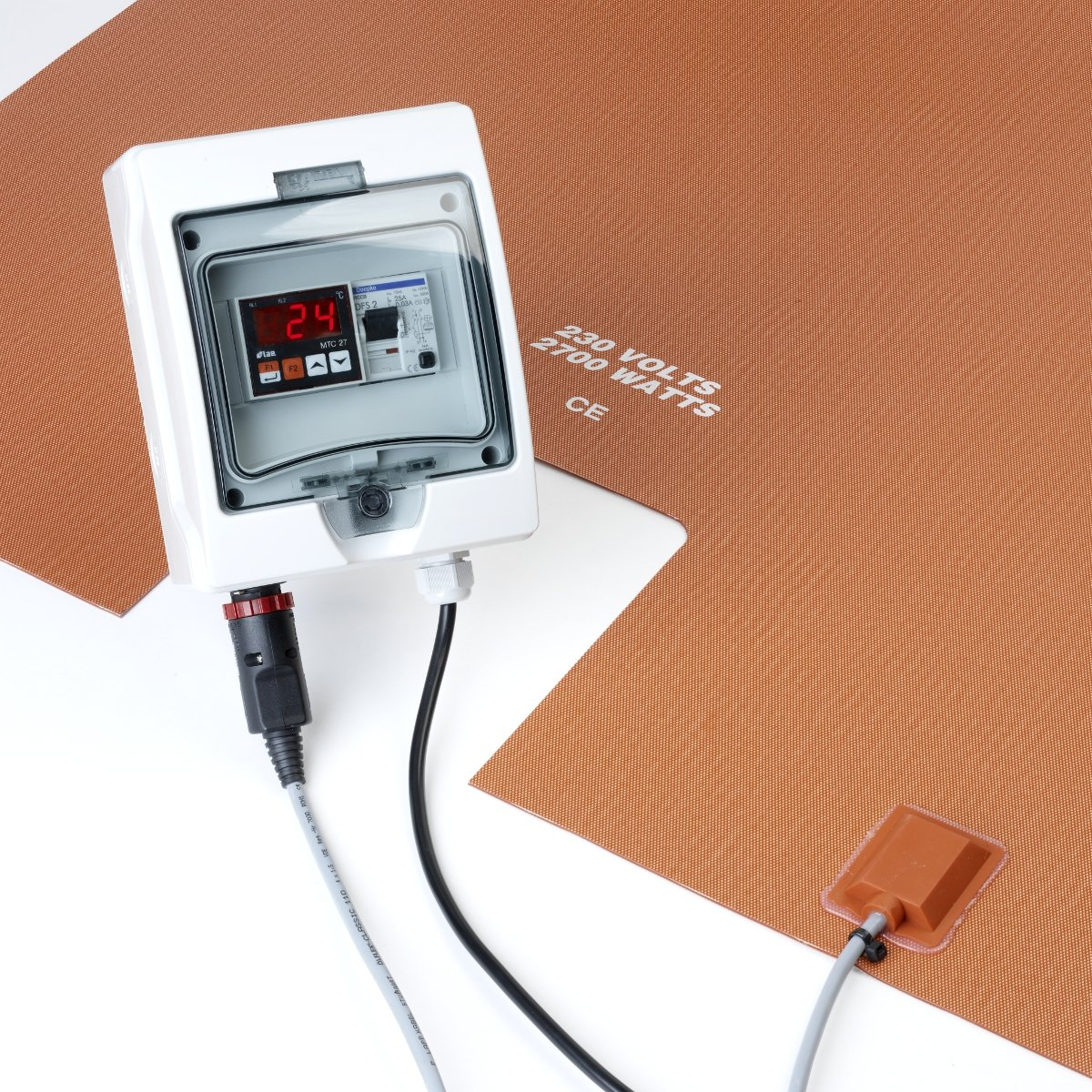 Under Tote Heater with Controller.