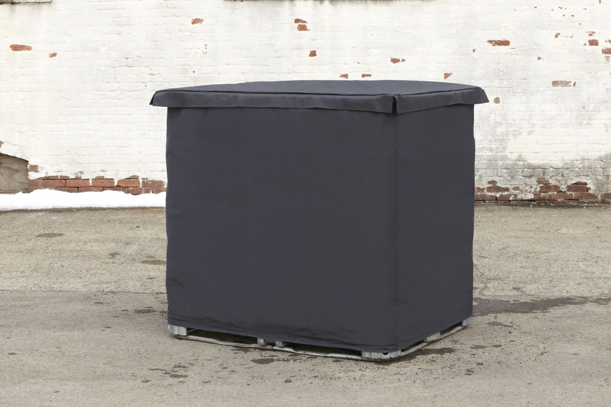 ibc tote cover heat insulating cover ibc insulation lid. Black Bedroom Furniture Sets. Home Design Ideas