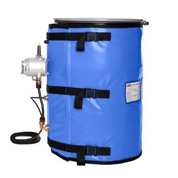 55 Gallon Drum Heater C1 D1 Z1 with Controller_Classified_Area_Heating_Jacket
